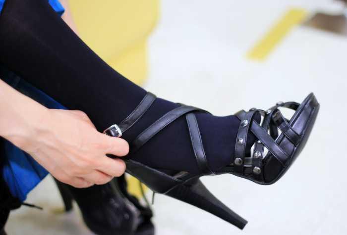 Tacchi e danni al piede