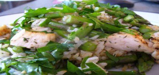 ricette light asparagi e pollo