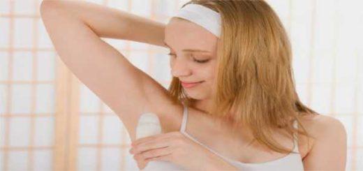 uso corretto del deodorante