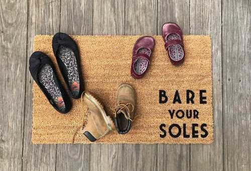 scarpe e igiene